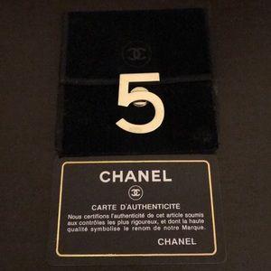 Chanel No.5 Beauty Silvertone Magnetic Pin